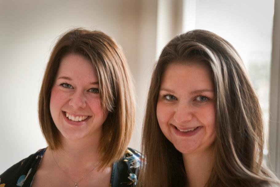 Abigail Burton et Helena Galloway.